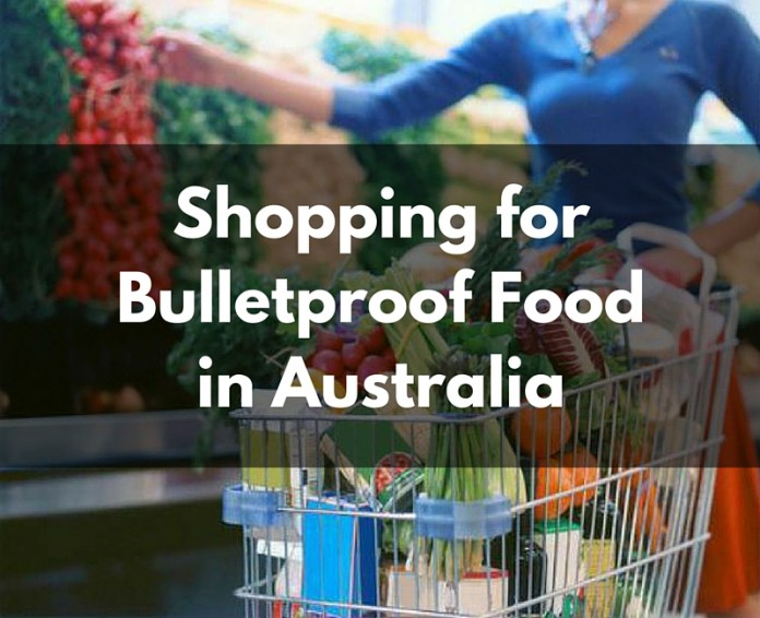 Shopping for BulletprooFood in Australia