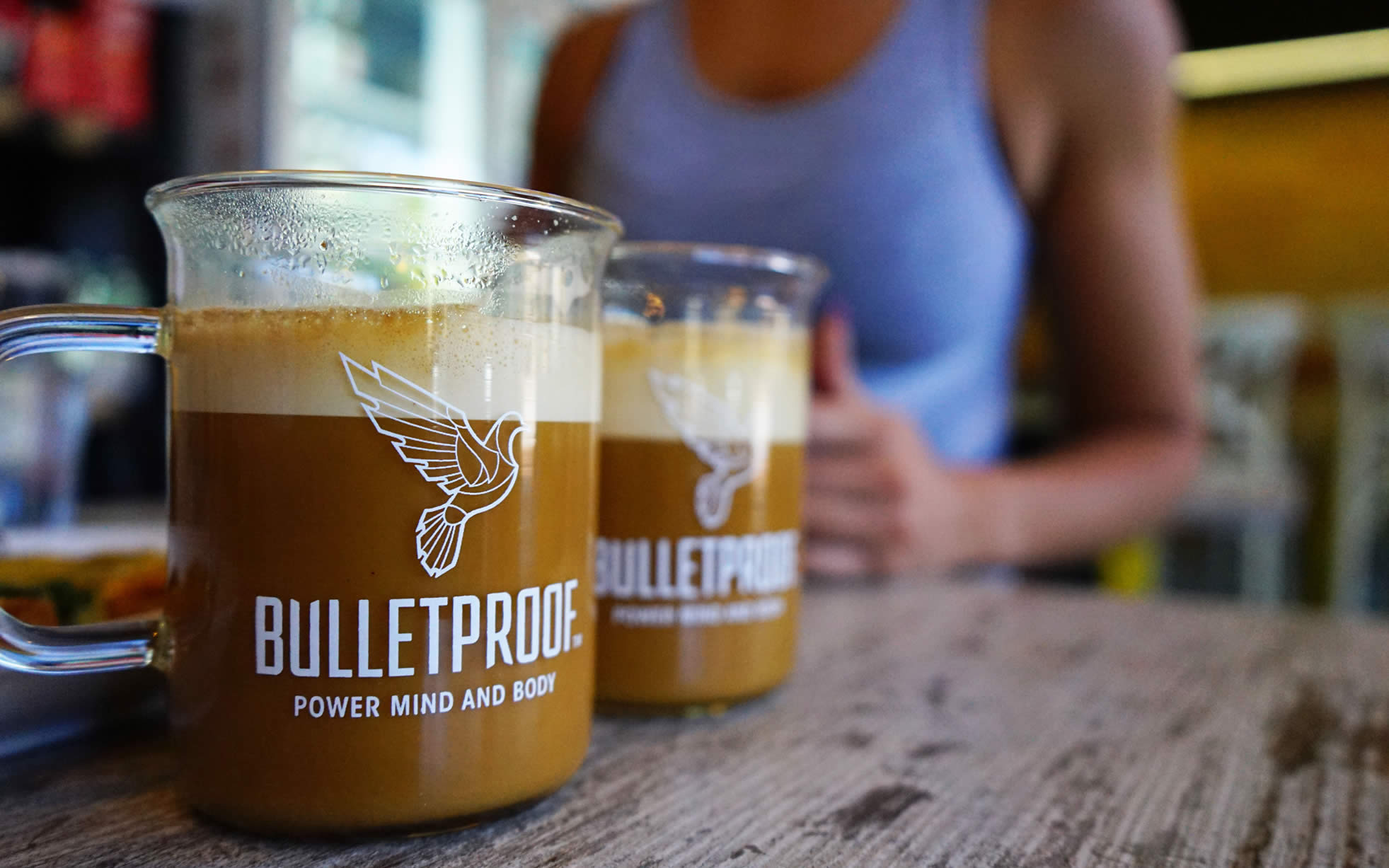 Karibu Cafe's Bulletproof Coffee in Australia