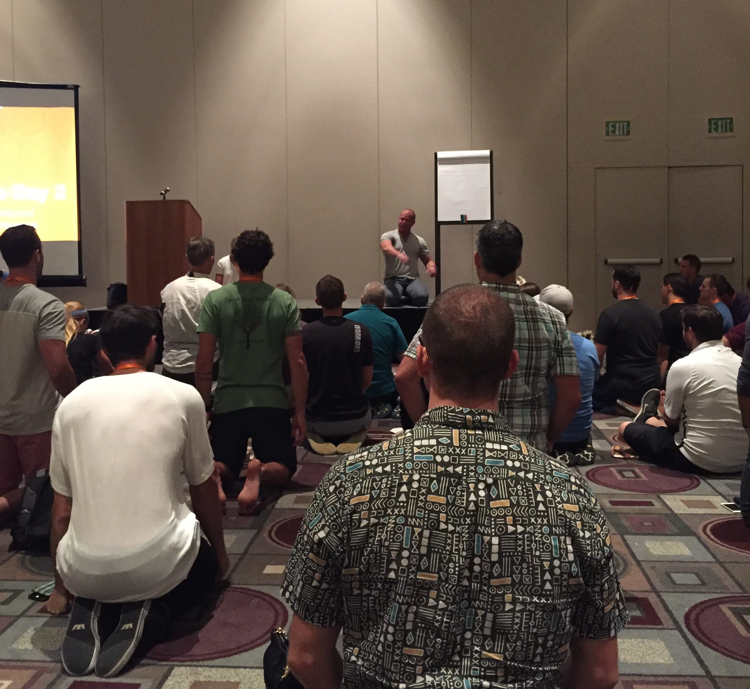 Kelly Starrett at the Bulletproof Biohacking Conference 2016