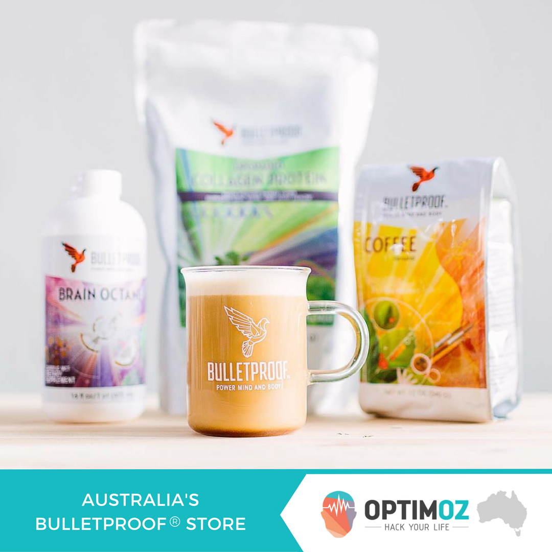 Buy Bulletproof Coffee from OptimOZ in Newcastle