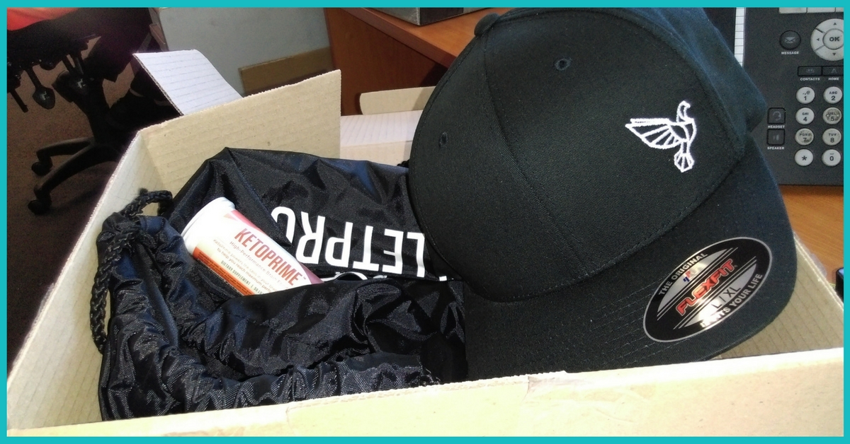 Limited Edition Bulletproof FlexFit Hat, Bag and Ketoprime Supplement