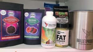 Mushrooms and BP products